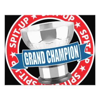 Spit-Up Grand Champion Custom Invite