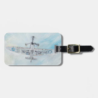 SPITFIRE. 'Ace Of Spades'. 2014. Luggage Tag