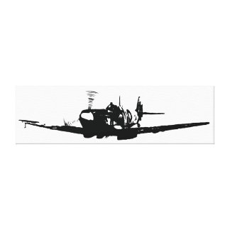 *Spitfire* by David Goodall Stretched Canvas Prints