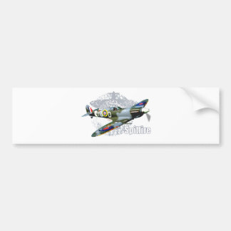 Spitfire Supermarine Bumper Sticker
