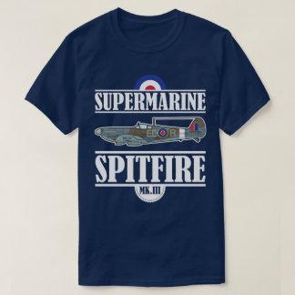 Spitfire Supermarine Vintage Aviation WWII Plane T-Shirt