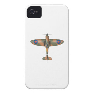 spitfire top view iPhone 4 Case-Mate cases