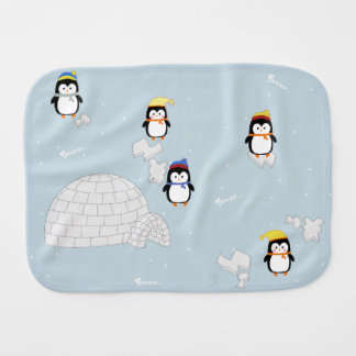 Spitting cloth of penguins