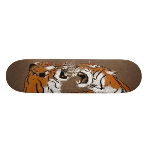 spitting mad tigers skate board