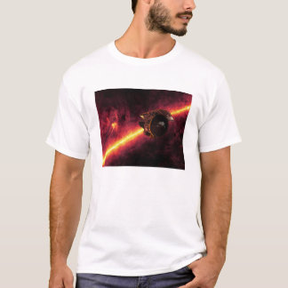 Spitzer seen against the infrared sky 2 T-Shirt
