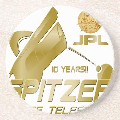 Spitzer Space Telescope: 10th Anniversary!! Beverage Coaster