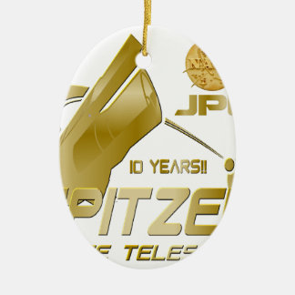 Spitzer Space Telescope: 10th Anniversary!! Christmas Ornament