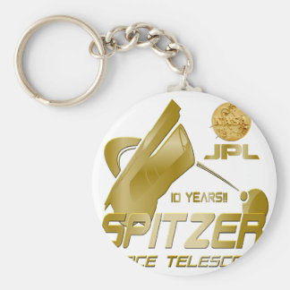 Spitzer Space Telescope 10th Anniversary Keychains