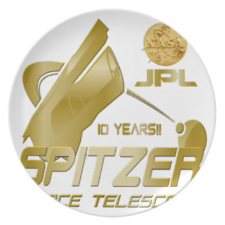 Spitzer Space Telescope: 10th Anniversary!! Dinner Plate