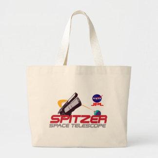 Spitzer Space Telescope Canvas Bag