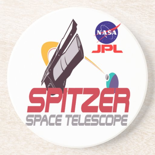 Spitzer Space Telescope Drink Coasters