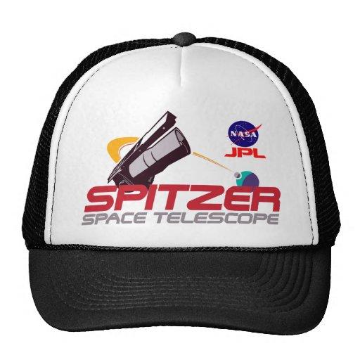 Spitzer Space Telescope Trucker Hats