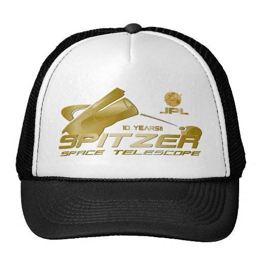 Spitzer Space Telescope Mesh Hats