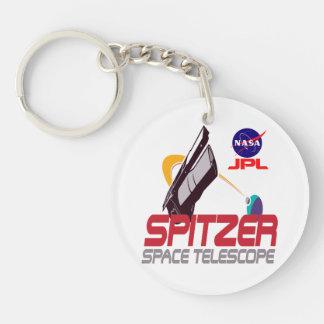 Spitzer Space Telescope Acrylic Keychains