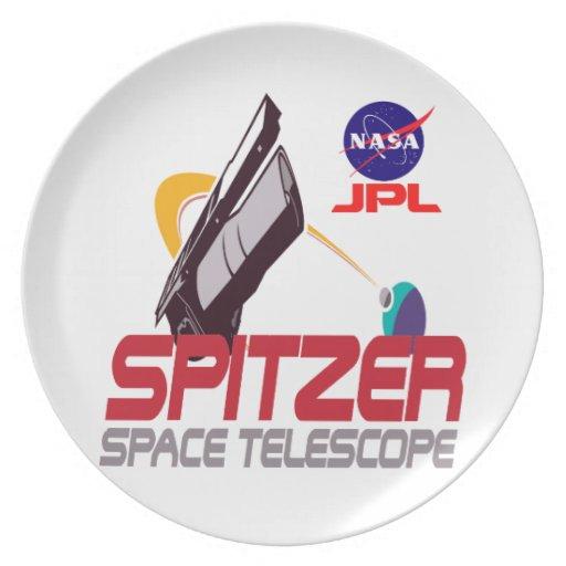 Spitzer Space Telescope Dinner Plates