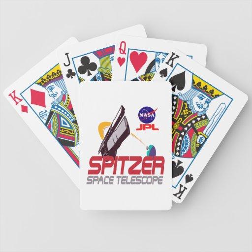 Spitzer Space Telescope Poker Deck