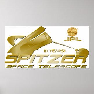 Spitzer Space Telescope Print