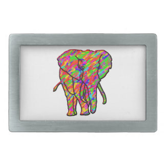 Splash Elephant Belt Buckle