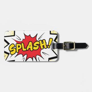 splash luggage tag