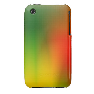 Splash of Color Red Green and Yellow iPhone 3 Case