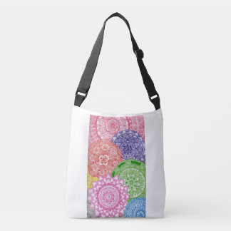 Splash of colour crossbody bag