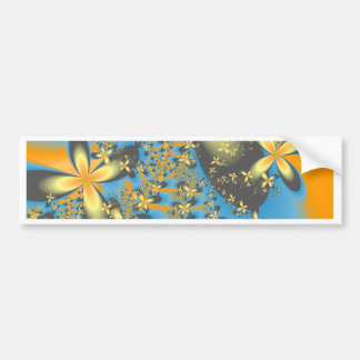 Splash of Flowers Bumper Sticker