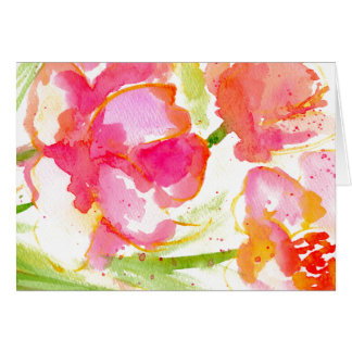 Splash of Pinks Card