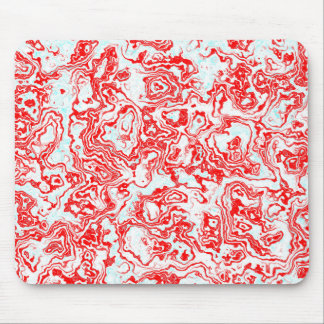 Splash of Red Mouse Pad