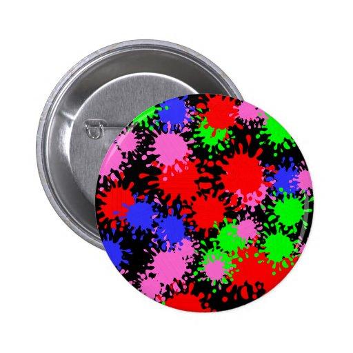 Splash Paint Button