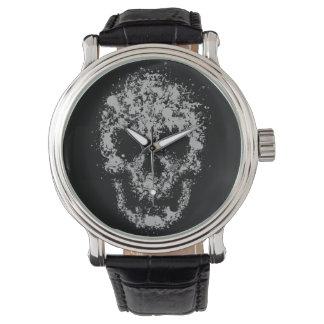 Splash skull watch