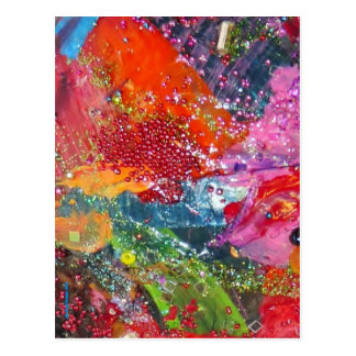 Splash! The Rainbow Connection. Postcard