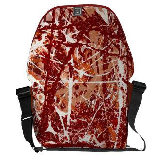 SPLASHDOWN!(an abstract art design) ~ Commuter Bag