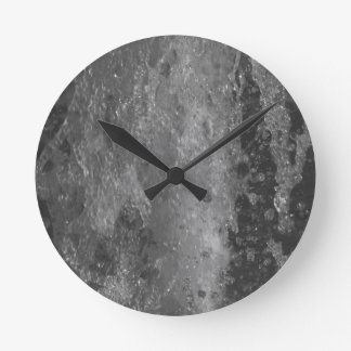 Splashes of fountain water (black and white) wallclocks