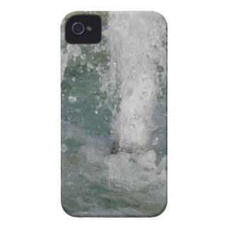Splashes of fountain water in a sunny day iPhone 4 covers