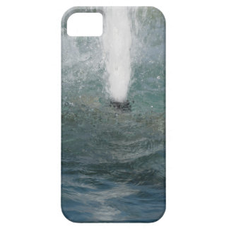 Splashes of fountain water in a sunny day iPhone 5 case