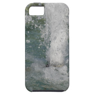 Splashes of fountain water in a sunny day tough iPhone 5 case