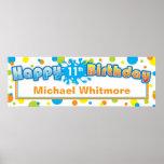 Splashing Fun in the Sun Birthday Banner