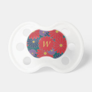 Splashy Fall Floral Pacifier
