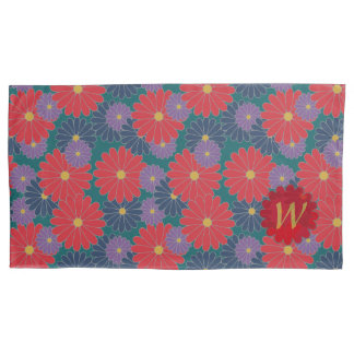 Splashy Fall Floral Pillow Case