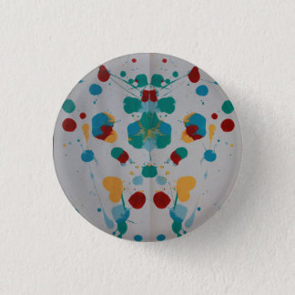 Splat 3 Cm Round Badge