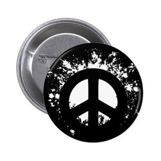Splat Peace 6 Cm Round Badge