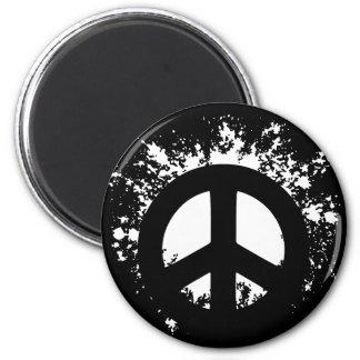 Splat Peace Refrigerator Magnet