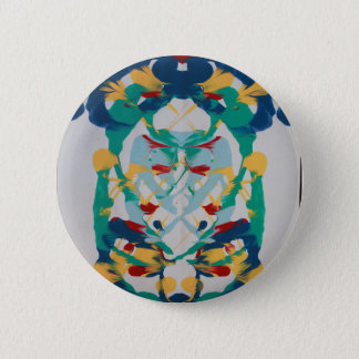 Splatter 6 Cm Round Badge