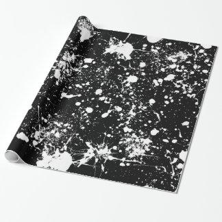 Splatter Art Gift Wrap