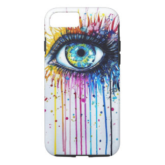 Splatter Eye iPhone 7 Case