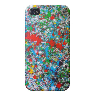 Splatter iPhone 4 Cover