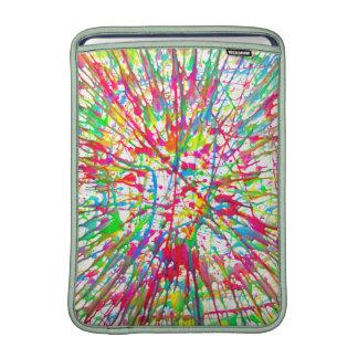 splatter macbook air sleeve