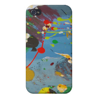 Splatter Me This Case For iPhone 4