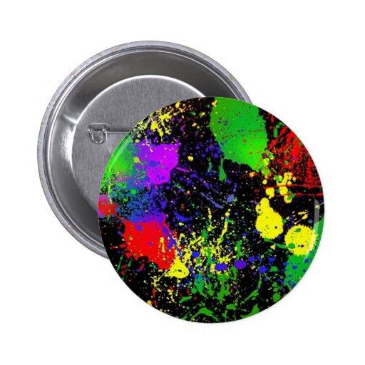 Splatter Paint Button