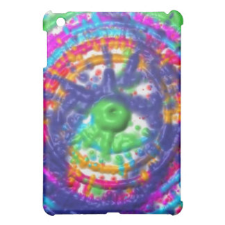 Splatter paint color wheel pattern cover for the iPad mini
